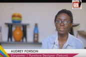 Audrey Forson, The Carpenter, Shares why she Chose Carpentry