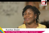 Kuorkor Dzani, Owner of Twists & Locs Talks Running a Successful Business