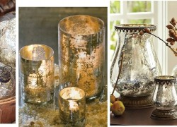 Ageless Beauty – Decorating With Mercury Glass