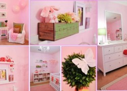 BUILDING A NURSERY: Preppy Chic Style
